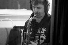 Brett Joseph, sax